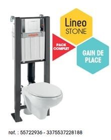 PACK WC LINEOSTONE